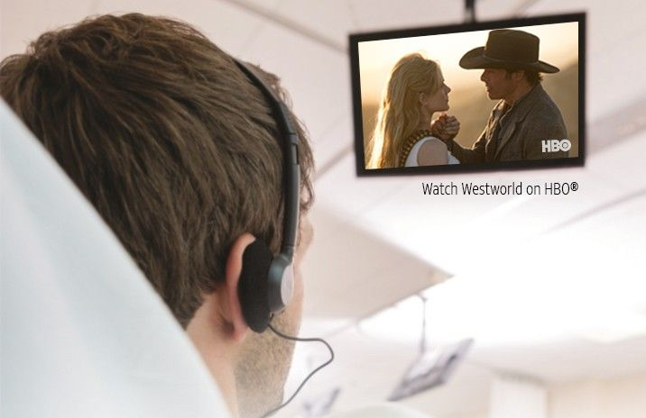 patient watching Westworld HBO